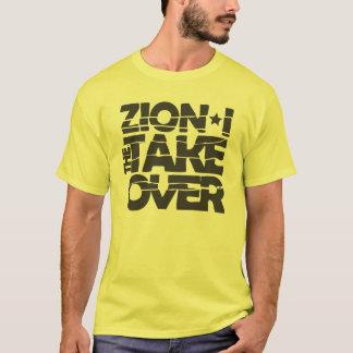 Preto do logotipo da aquisição maioritária camiseta