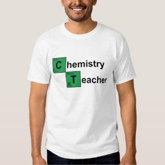 Preto do professor da química tshirts