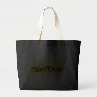 Preto e amarelo bolsas para compras