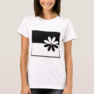 Preto e branco camiseta