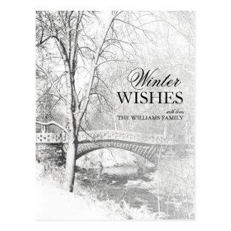 Preto e branco, parque de Garfield, Indianapolis Cartão Postal