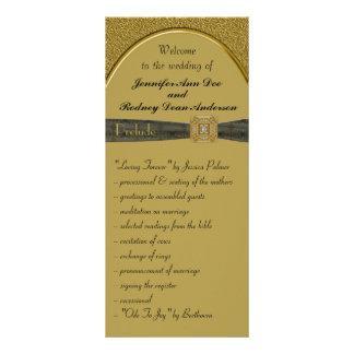 Preto e cartão da cremalheira do programa do