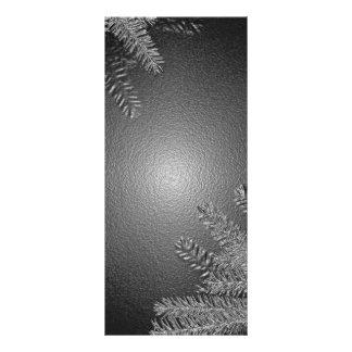 Preto e cinza da poinsétia do Natal Planfetos Informativos Coloridos