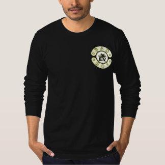 Preto mau & ouro do crânio do Bandana do grupo da T-shirts