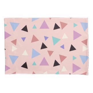 Preto roxo da hortelã do rosa geométrico elegante