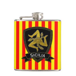 Preto siciliano de Trinacria & amarelo vermelho do