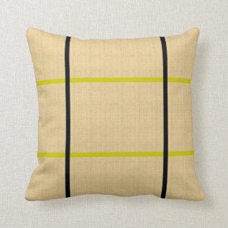 Preto/travesseiro esverdeado