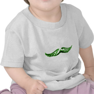 Preto verde do bigode os presentes de Zazzle do Tshirt