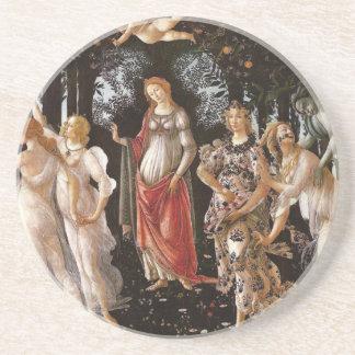 Primavera, Botticelli Porta Copos De Arenito