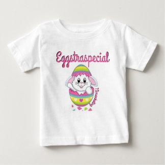 Primavera da camisa do bebé da páscoa do coelho de