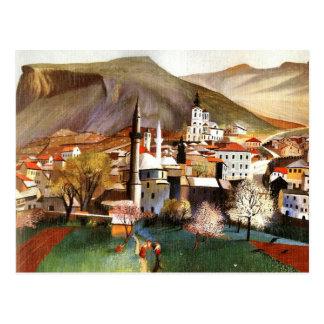 Primavera em Mostar Cartão Postal