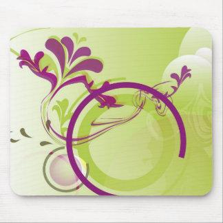 Primavera roxo mouse pad