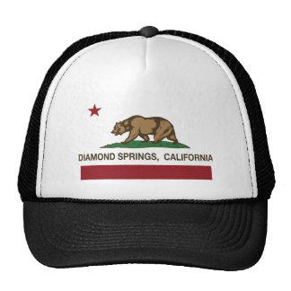 primaveras do diamante da bandeira de Califórnia Bones