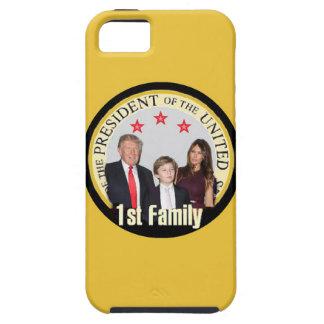 Primeira família do TRUNFO Capa Tough Para iPhone 5