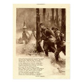 Primeira Guerra Mundial, poesia da guerra Cartão Postal