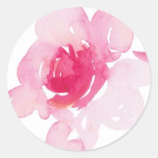 Primeiras etiquetas cor-de-rosa