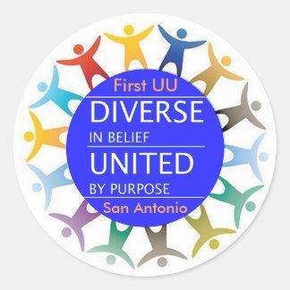 Primeiras etiquetas da diversidade de UU