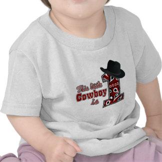 Primeiro aniversário do vaqueiro camisetas