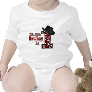 Primeiro aniversário do vaqueiro tshirt