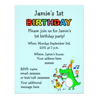 Primeiro aniversario feliz eu sou 1 convites personalizado