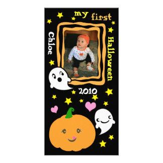 Primeiro cartão com fotos do costume do Dia das Br Cartão Com Foto