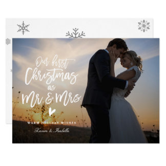 Primeiro cartão com fotos do feriado da foto do convite 12.7 x 17.78cm