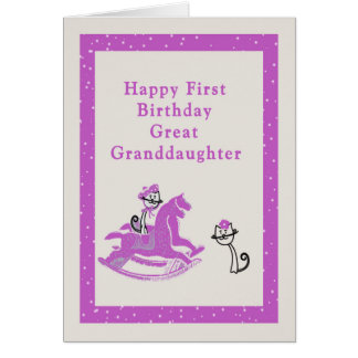 Primeiro cartão de aniversário para o excelente -