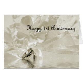 Primeiro cartão do Sepia do aniversário