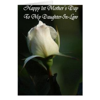Primeiro cartão feliz do dia das mães