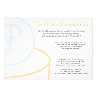 Primeiro comunhão convites personalizados