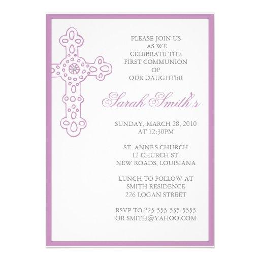 Primeiro comunhão convites