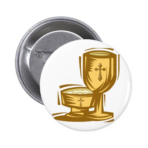 Primeiro comunhão santamente botons