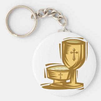 Primeiro comunhão santamente chaveiros