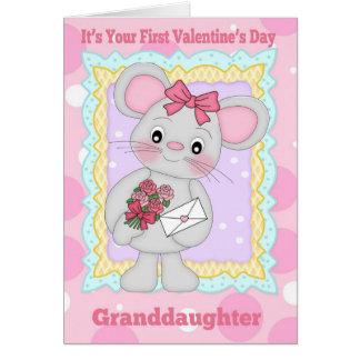 Primeiro dia dos namorados da neta com pouco Mo Cartões