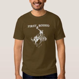 Primeiro rodeio tshirts