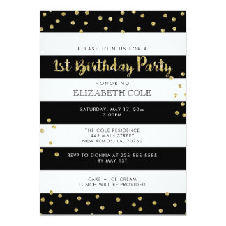 Primeiros convites de festas de aniversários