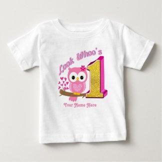 Primeiros t-shirt da coruja da camisa | do bebê do