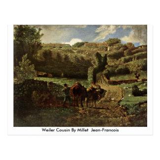 Primo de Weiler pelo painço (ii) Jean-Francois Cartão Postal