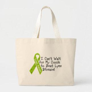 PRIMO para bater a doença de Lyme! Sacola Tote Jumbo