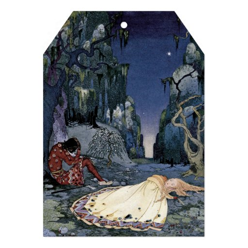 Princesa Adormecido na floresta Convites Personalizados