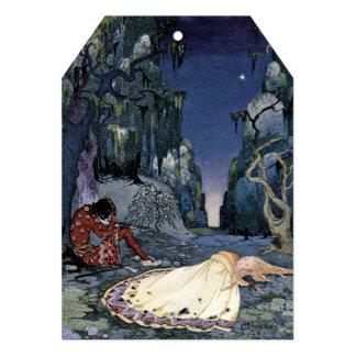 Princesa Adormecido na floresta Convite 12.7 X 17.78cm