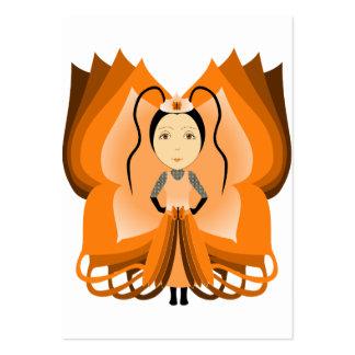 Princesa ambarina da borboleta cartão de visita