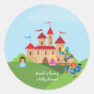 Princesa Aniversário Bebê Envelope Etiqueta do