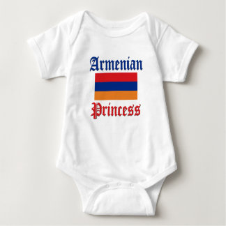 Princesa arménia body para bebê