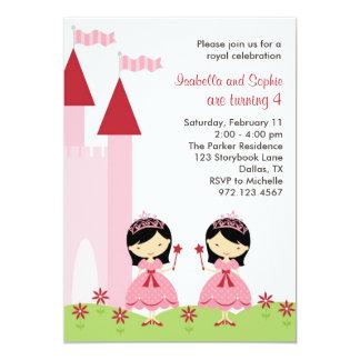 Princesa asiática bonito Convite