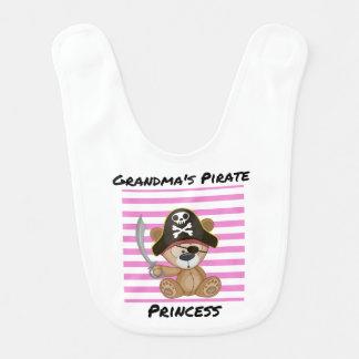 Princesa Bebê Babador do pirata da avó
