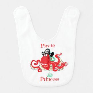 Princesa Bebê Babador do pirata do polvo