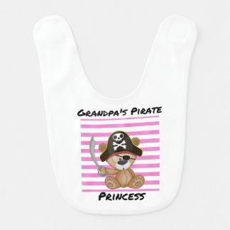 Princesa Bebê Babador do pirata do vovô