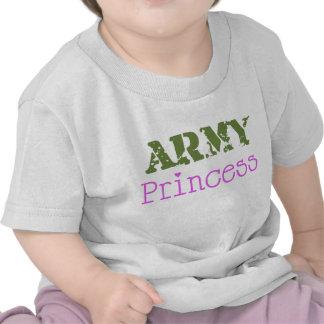 Princesa Bebê do exército T-shirt