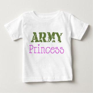 Princesa Bebê do exército Camiseta Para Bebê